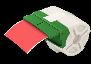 Cartus cu etichete din plastic
