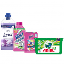 Kit pentru haine curate - 4 produse igienizare si dezinfectare