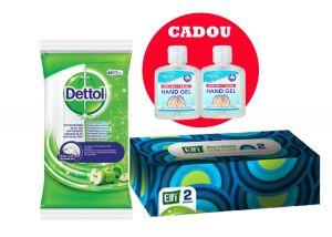 Kit dezinfectanti pentru masina + Gel antibacterial CADOU