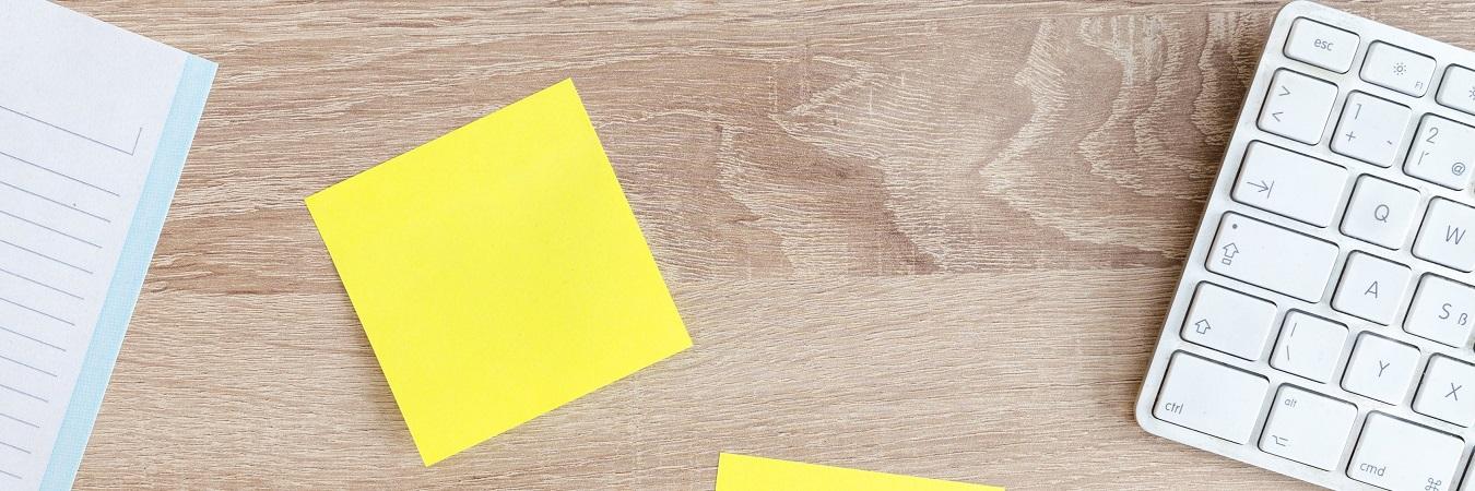 Cum se pot folosi în mod util notes-urile adezive?